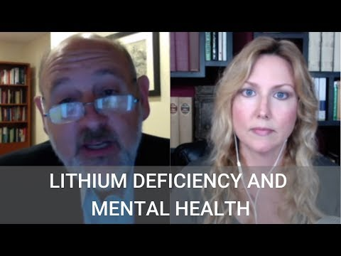 Live to 110 Podcast #165 Lithium Deficiency and Mental Health with Dr. James Greenblatt