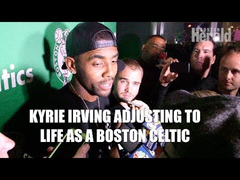 Kyrie Irving Adjusting to Life as a Boston Celtic