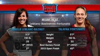 CrossFit Open 14.2 CAMILLE LEBLANC vs TALAYNA FORTUNATO