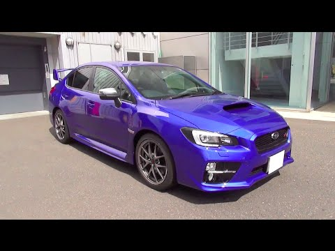 スバル Wrx Sti Type S 内外装 Youtube