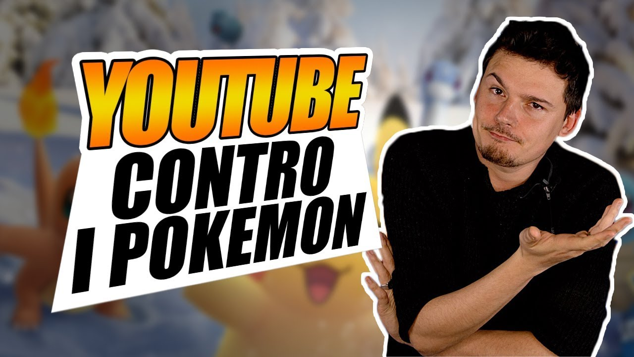 Algoritmo di YouTube in azione: BANNATI i POKEMON