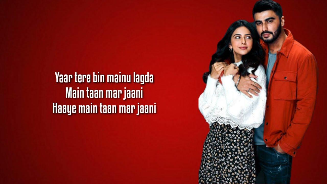Jee Ni Karda (Lyrics) Sardar Ka Grandson | Arjun Kapoor, Rakul Preet |Jass Manak,Manak -E ,Nikhita G