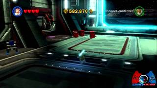 Lego Star Wars III The Clone Wars All Red Power Bricks Locations Part 2 (XBOX 360, PS3, PC, Wii)