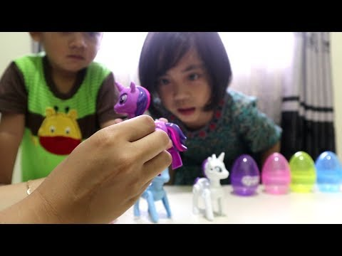 Mainan My Little Pony Berbentuk Telur ! Unboxing Surprise Egg My Little Pony
