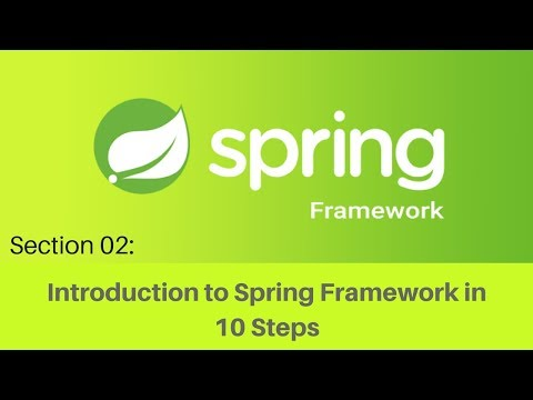 Spring framework Tutorial (011 Step 3   Making the Binary Search Algorithm Example Loosely Coupled)