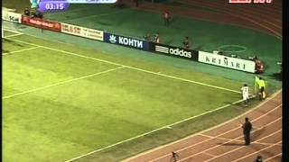 2007 (March 15) Shakhtar Donetsk (Ukraine) 2-Sevilla (Spain) 3 (UEFA Cup)