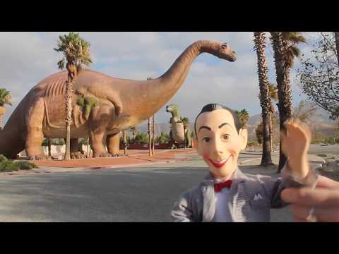 Pee Wee's Big Adventure At Cabazon Dinosaurs