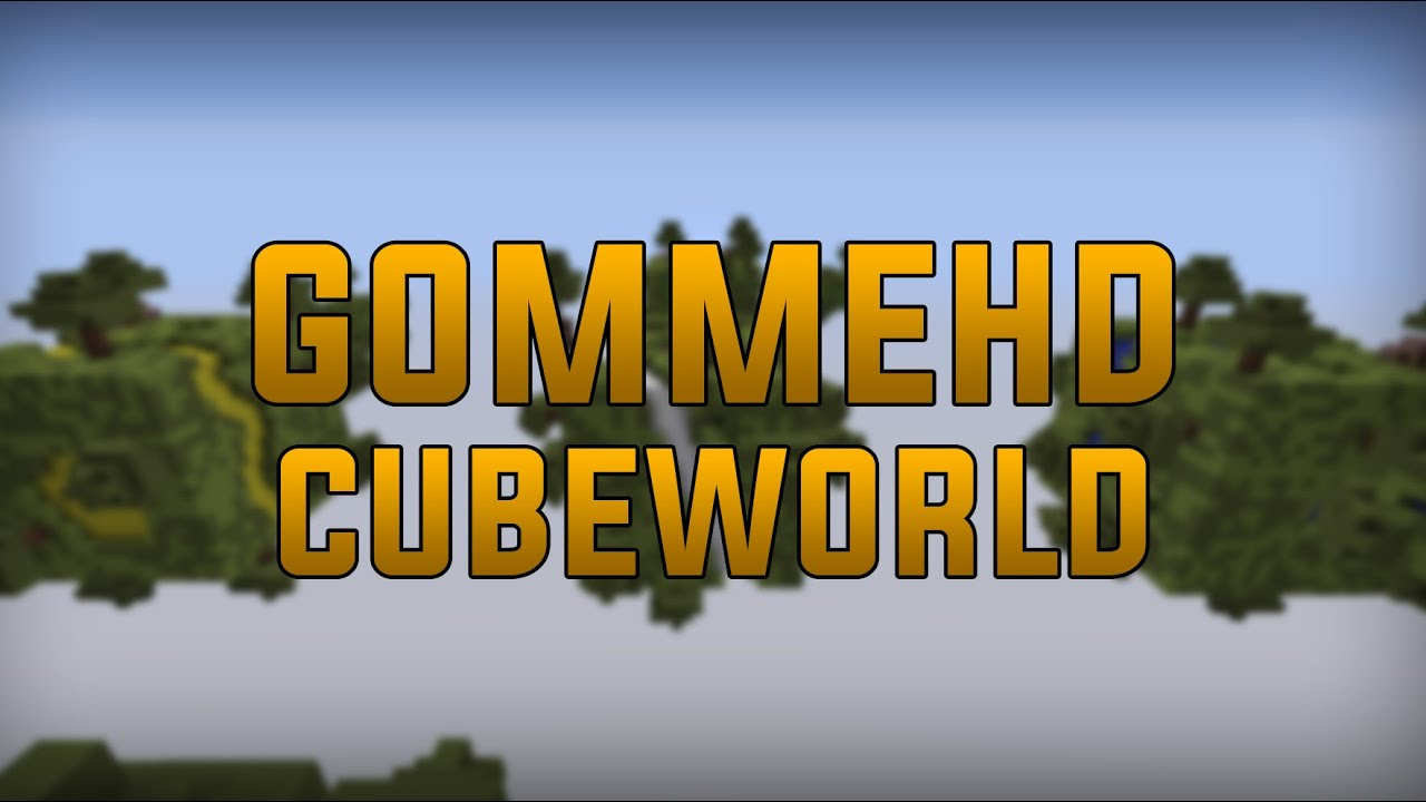 Minecraft gommehd cubeworld map download youtube minecraft gommehd cubeworld map download gumiabroncs Images