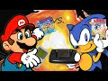Super Mario Land GAMEBOY vs. Sonic The Hedgehog GAME GEAR - Mario vs. Sonic Ep 6