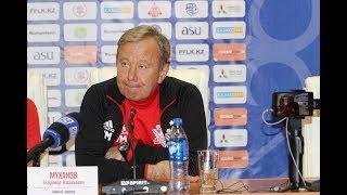 Комментарий Муханова к матчу Актобе-Тобол