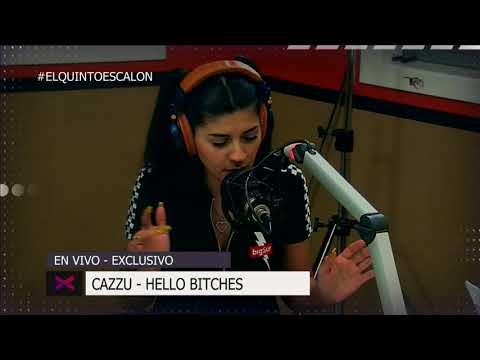 CAZZU - HELLO BITCHE$ EN VIVO - El Quinto Escalon Radio (26/10/17)