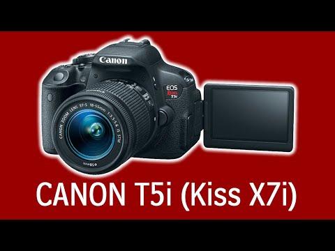 Review Camara Canon Kiss X7i - Canon T5i
