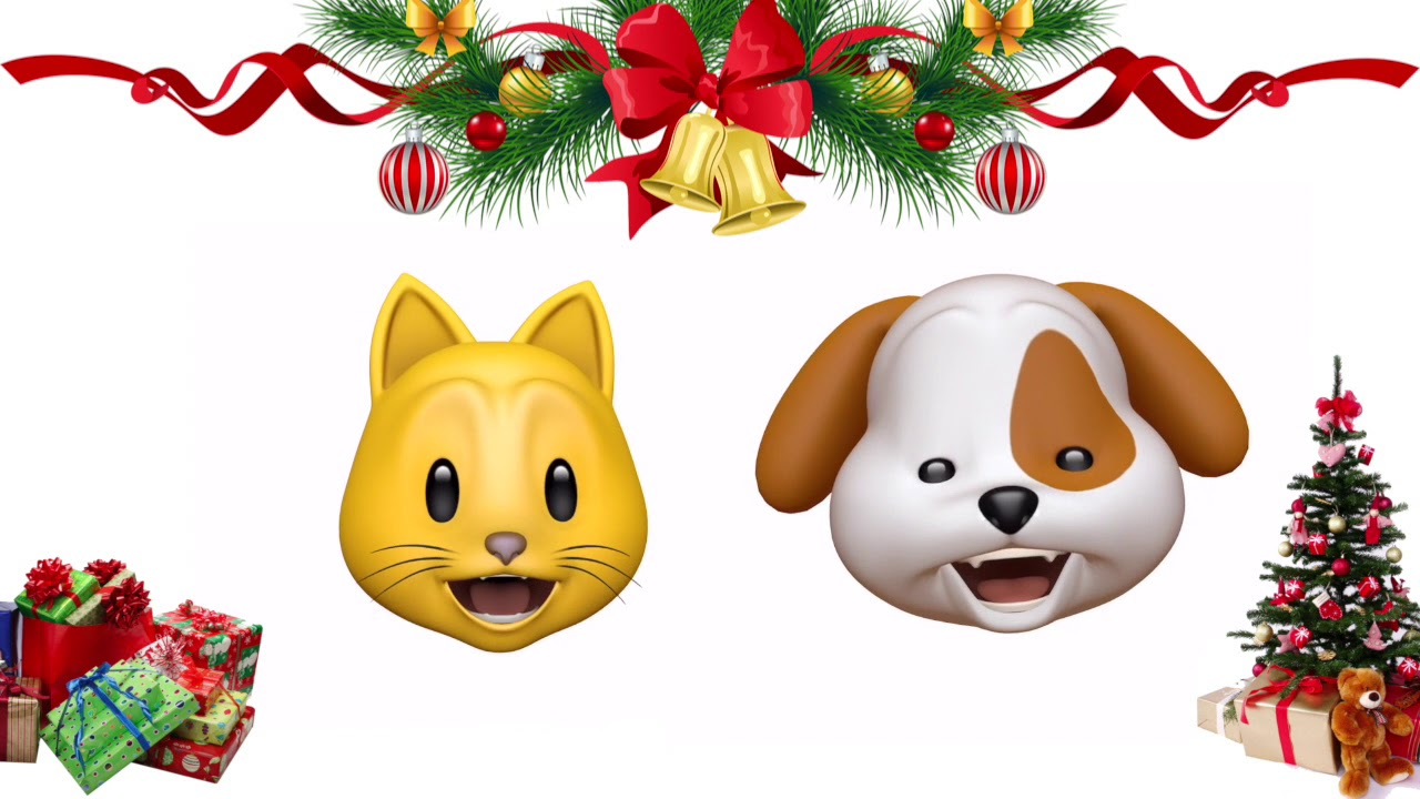 You Make It Feel Like Christmas - Animoji Karaoke - YouTube