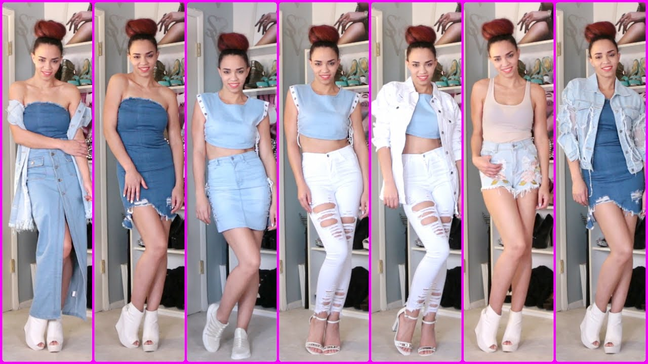 [VIDEO] - 2017 Fashion Trends - 10 Summer Outfits with Jeans - Trends Outfits with Denim, Fashion Trends 2017 2