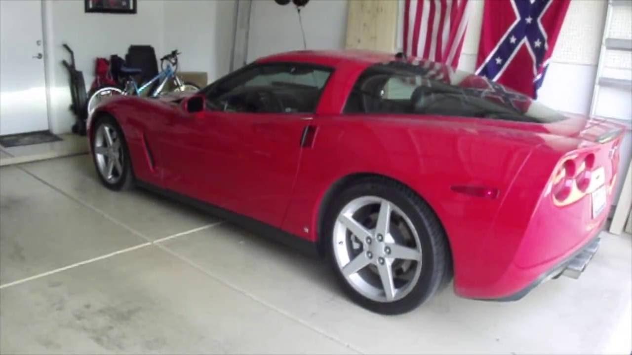 2007 corvette manual lock