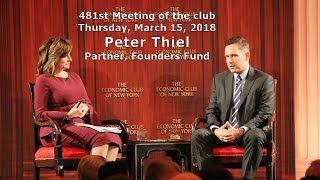 ECNY Events - Peter Thiel