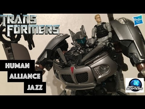 JAZZ || Transformers: Hunt for the Decepticons Human Alliance Jazz Review