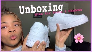 Nike Airforce 1 Shadows Unboxing🔥