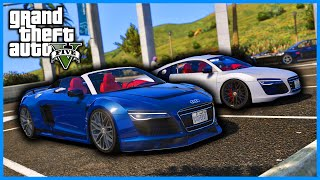 INSANE AUDI R8 MOD SHOWCASE AND REVIEW GTA 5! - PC MODS (DOWNLOAD LINK IN DESCRIPTION)