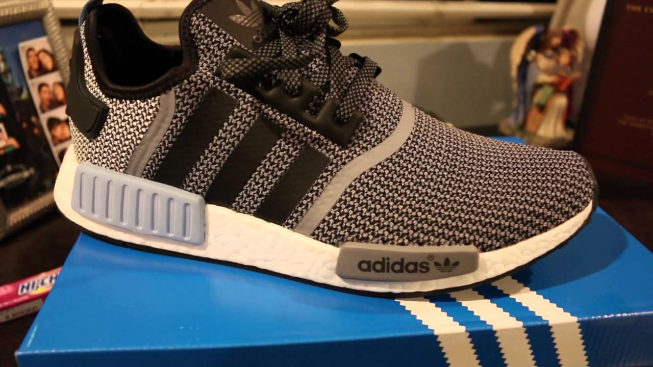8639548f1 Unboxing of the Adidas NMD R1 Clear Blue (With An On Feet Look ...
