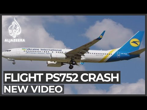 Video appears to show moment Ukraine plane hit over Iran