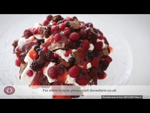 Gluten Free Brownie Recipe | FREEE By Doves Farm