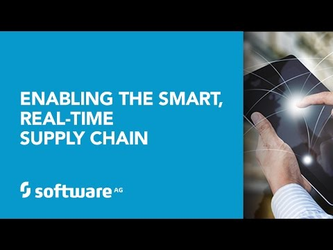 Enabling The Smart, Real-Time Supply Chain