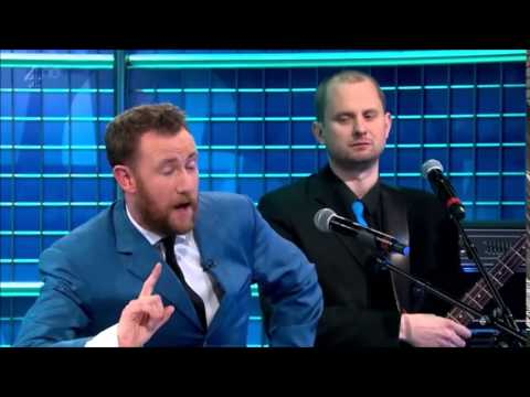 Alex Horne and the horn section