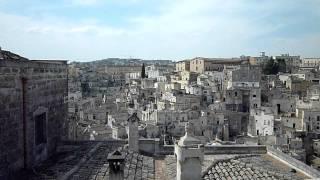 南イタリア 世界遺産 マテーラの洞窟住居 ITALY