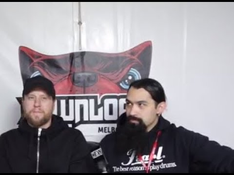 AMON AMARTH interview, they are working on a new album and are about halfway through writing..!