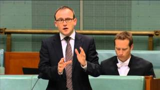 Adam speaks against Nauru plan