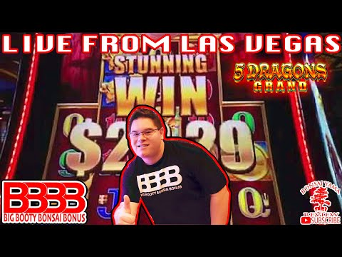 5 DRAGON GRAND LIVE PLAY FROM VEGAS WITH A BBBB