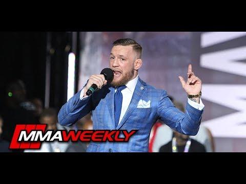 Conor McGregor: Mayweather vs McGregor Media Call
