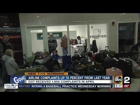 More flight delays, complaints for US airlines