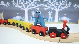 Coco Train LEARNING LETTER A - Clay & Play Doh Cartoons For Kids