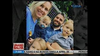 Dayuhang pamilya na pusong Pinoy