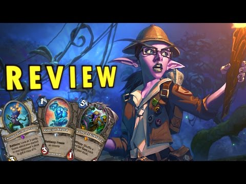 Hearthstone Journey to Un'Goro Card Review - Fun Cards, Rogue Plant and More