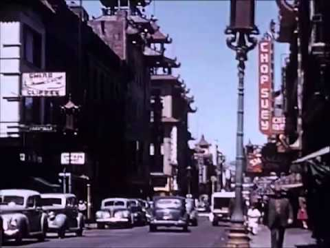 Amateur film: Summers Collection: San Francisco, California, 1941 - CharlieDeanArchives