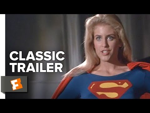 Supergirl 1984    Helen Slater, Faye Dunaway, Peter O'Toole Superhero Movie HD