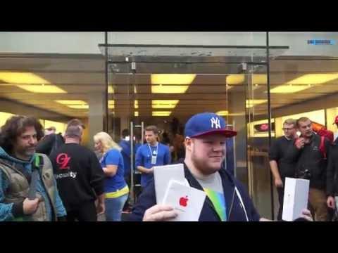 iPhone 6 Verkaufsstart @ Apple Store Munich Rosenstrasse beim Marienplatz