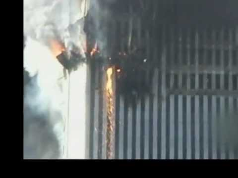 Molten metal literally pouring out of WTC2