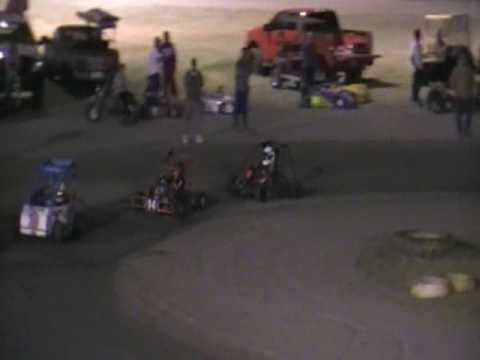 Part 2 of 2 Brennan Riley South Texas Speedway June 27 2009 Junior Division Go Kart Feature Race
