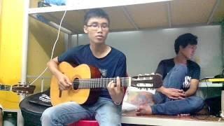 Thầy Ngọc Pencil góp vui cùng lớp guitar 3 không