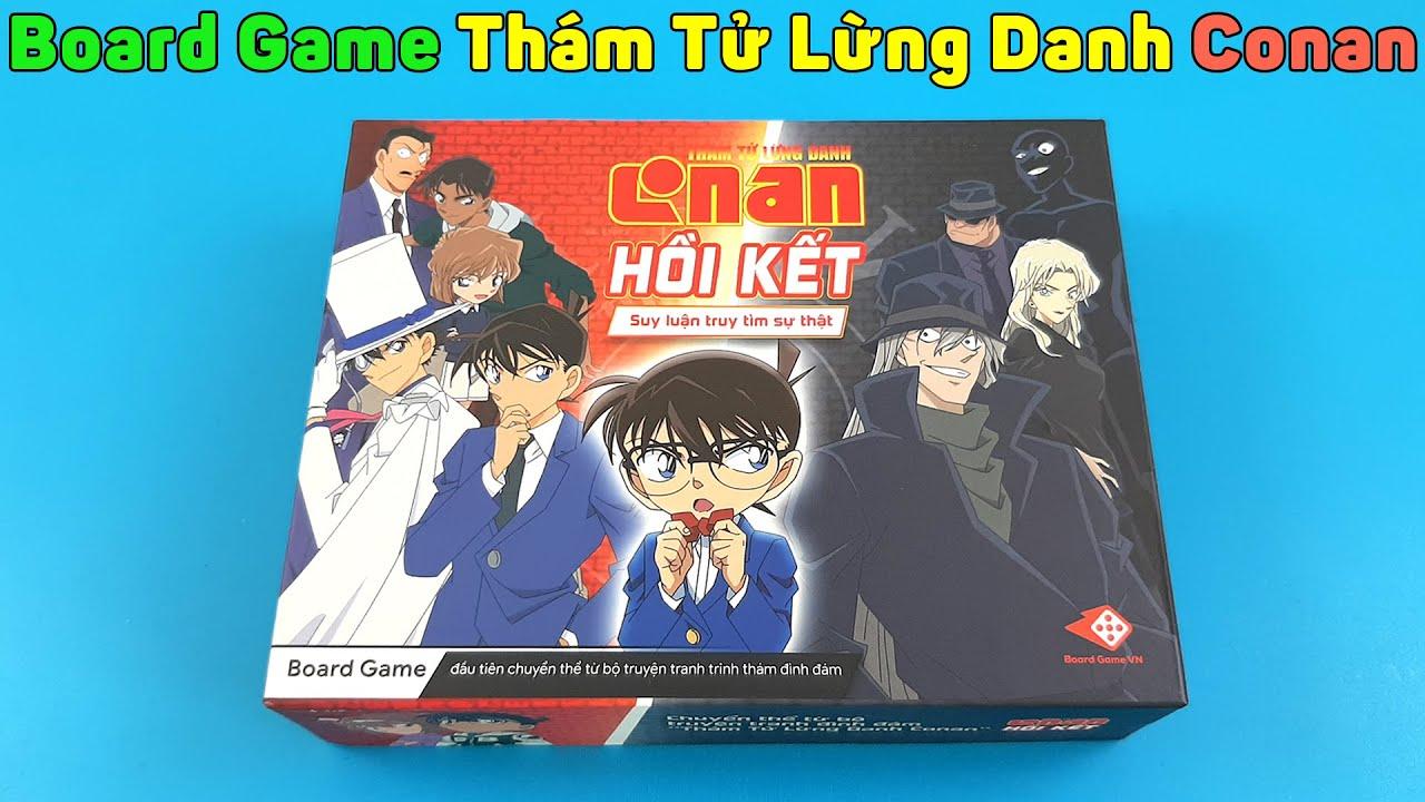 Board Game Thám Tử Lừng Danh Conan: Hồi Kết   Mở Hộp Hàng Mua Online Trên Lazada