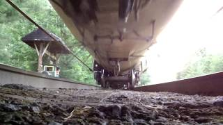 Under the Train Rail!   St. Lawrence & Atlantic Railway - Island Pond, VT 7/18/17