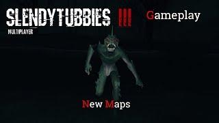 Slendytubbies III (Multiplayer) Gameplay #2 - NEW MAPS