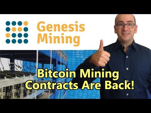 Bitcoin Mining Contracts Are Finally Back At Genesis Mining!