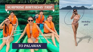 Surprise Palawan Birthday Trip - Pandemic Travel Explained | Janine Gutierrez