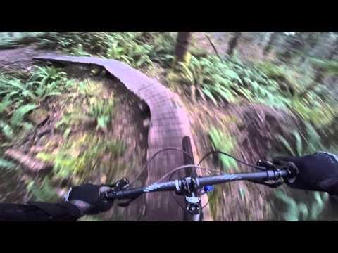 Henry's Ridge Mountain biking - Maple Valley, WA - 01-14-2015