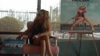PAULINA RUBIO recibe Disco de PLATINO en EE.UU por GRAN CITY POP